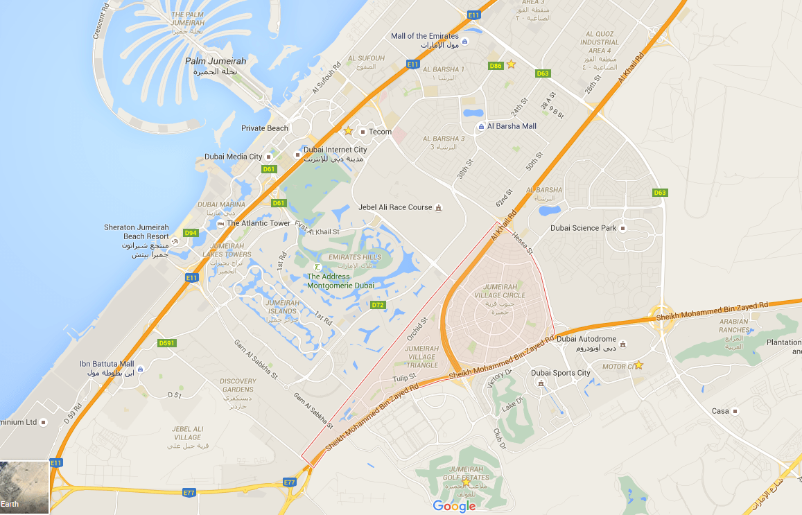 image- Jumeirah Village Dubai